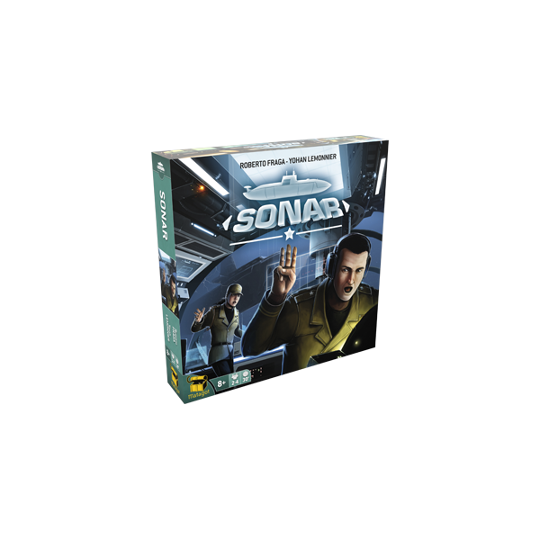 Image of Sonar (Family Edition) Board Game