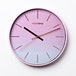Hometime Round Wall Clock Ombre Blush Foil Numbers 30 cm - Image 2