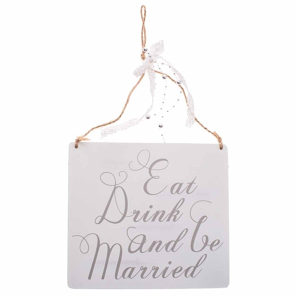 Eat Drink & Be Married Decoration by Heaven Sends