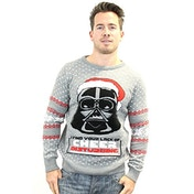 Star Wars Darth Vader Christmas Jumper - Large