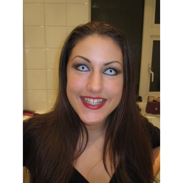 White Out 1 Day Halloween Coloured Contact Lenses (MesmerEyez XtremeEyez) - Image 6