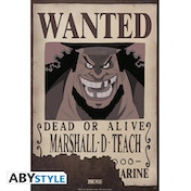 One Piece - Wanted Marshall D. Teach Small Poster