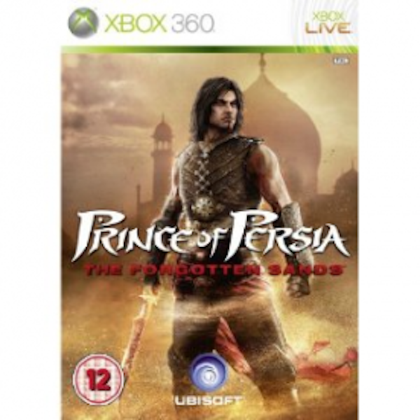 Prince of Persia The Forgotten Sands Game Xbox 360