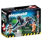 Playmobil Ghostbusters Venkman with Terror Dogs