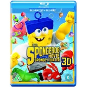 The Spongebob Movie Sponge Out of Water 3D Blu-ray