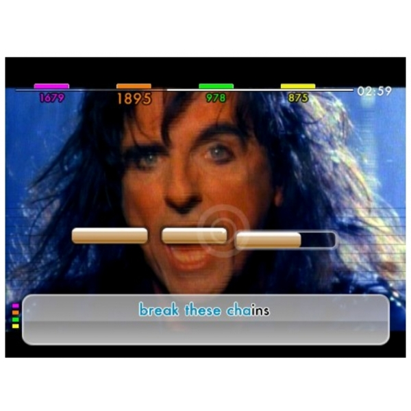 We Sing Rock Game Includes Twin Mic Bundle Wii - Image 2