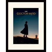Doctor Who - New Dawn Mounted & Framed 30 x 40cm Print