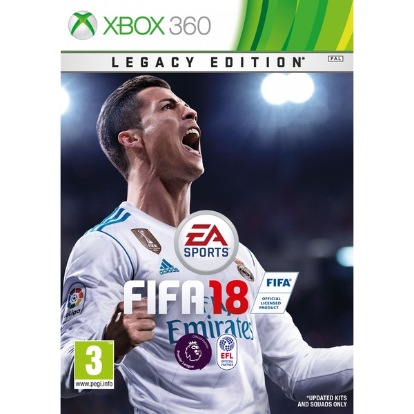 FIFA 18 Legacy Edition Xbox 360 Game