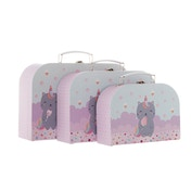 Sass & Belle Luna Caticorn Suitcases (Set of 3)
