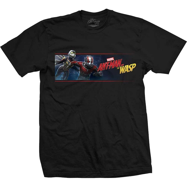 Marvel Comics - Ant Man & The Wasp Banner Unisex Small T-Shirt - Black