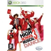Disney High School Musical 3 Senior Year Dance! Game Xbox 360