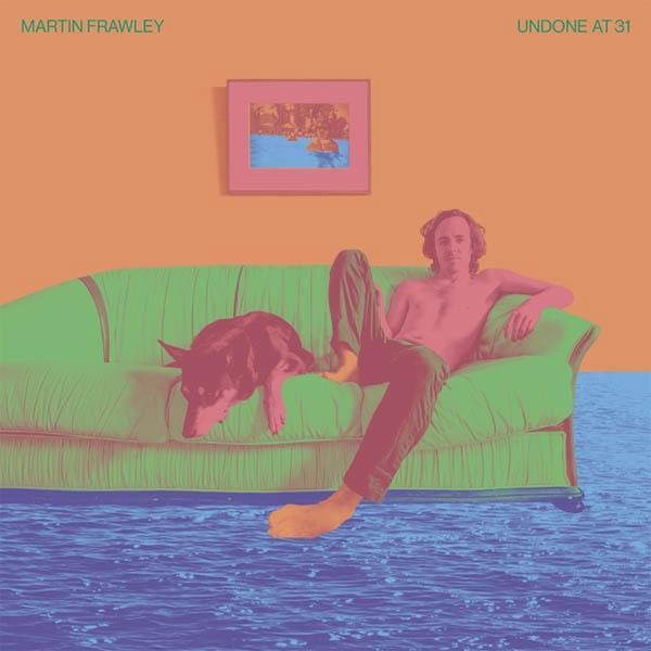 Martin Frawley – Undone at 31 Limited Edition Blue-White Marble Vinyl