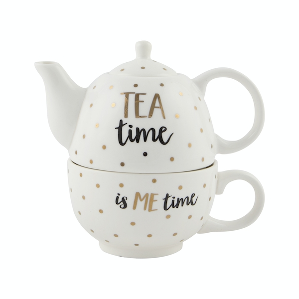 Sass & Belle Gold Tea Time Tea For One