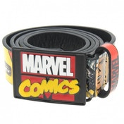 Marvel Superhero Comic Belt Mens