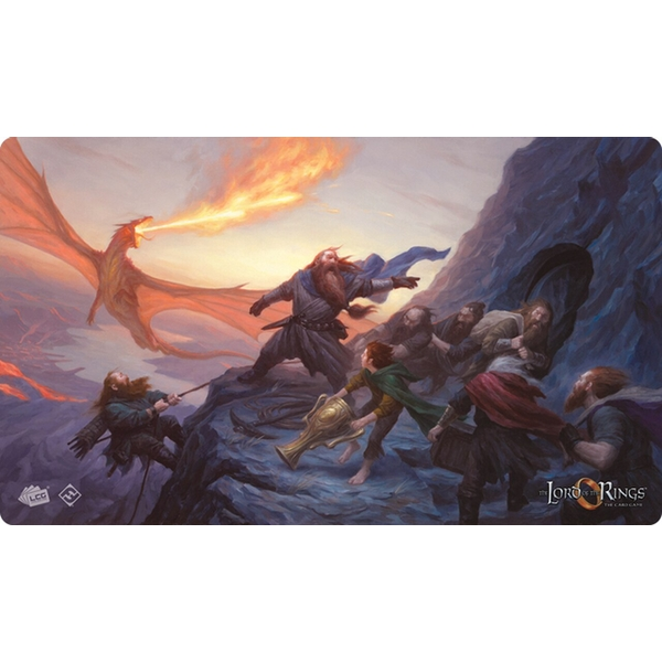 Lord Of The Rings LCG - On The Doorstep Playmat