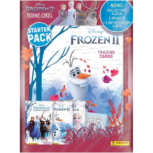 Frozen 2 Trading Card Collection Starter Pack