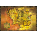 Lord Of The Rings Classic Map Maxi Poster - Image 2