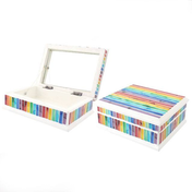 Mosaic Rainbow Jewellery Box