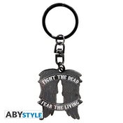 The Walking Dead - Daryl Wings Metal Keyring