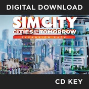 SimCity Cities Of Tomorrow Expansion Pack PC CD Key Download for Origin