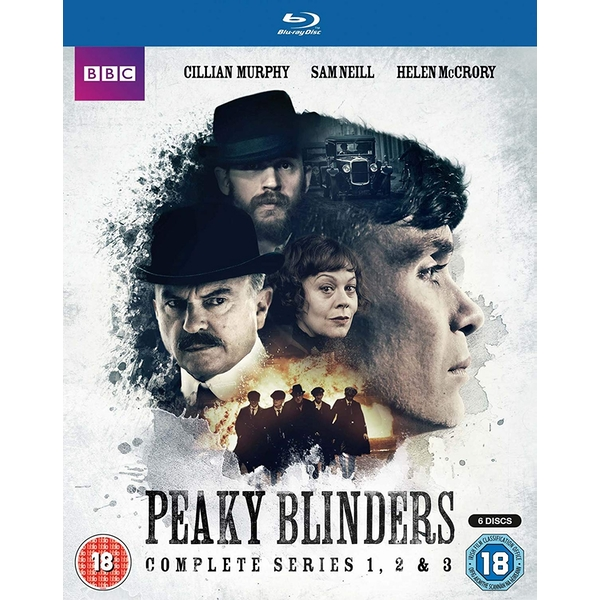 Peaky Blinders Series 1-3 Blu-ray