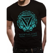 Northlane - Spiral Unisex X-Large T-Shirt - Black
