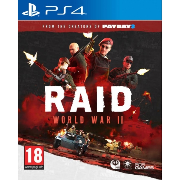 Raid World War II PS4 Game