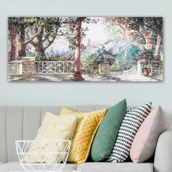 YTY305656907_50120 Multicolor Decorative Canvas Painting