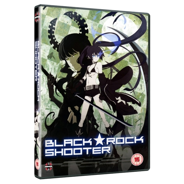 Black Rock Shooter Complete Series Collection DVD