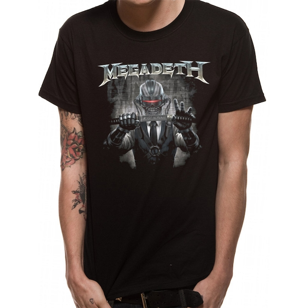 Megadeth - Rust In Peace Blade Men's Small T-Shirt - Black