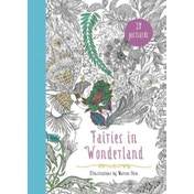 Fairies in Wonderland 20 Postcards : An Interactive Coloring Adventure for All Ages