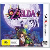 The Legend Of Zelda Majoras Mask 3DS Game (Australian Stock)