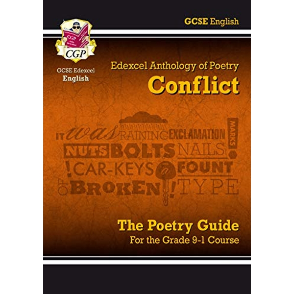 New GCSE English Literature Edexcel Poetry Guide: Conflict Anthology - for the Grade 9-1 Course  Paperback / softback 2018