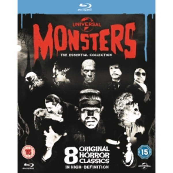 Universal Classic Monsters The Essential Collection Blu-ray