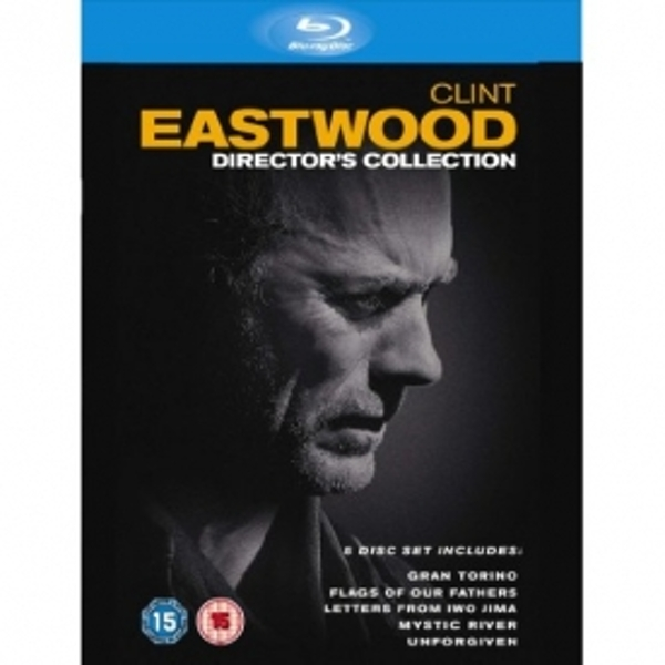 Clint Eastwood The Directors Collection 5 Disc Box Set Blu-Ray