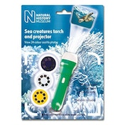 Natural History Museum Sea Creatures Torch and Projector