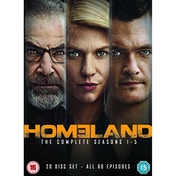 Homeland - Season 1-5 DVD