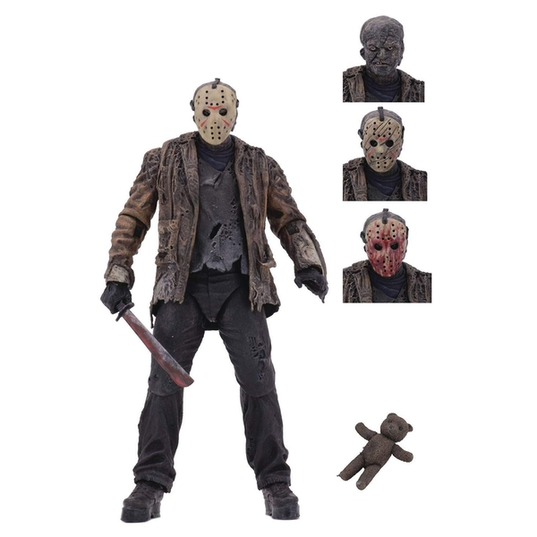 Ultimate Jason Voorhees Ultimate (Freddy Vs Jason) NECA 7 Inch Action Figure - Image 1