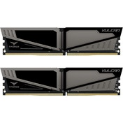 Team Group Vulcan T-Force 16GB (2x8GB) DDR4 PC4-24000C16 3000MHz Dual Channel Kit - Grey (TLGD416G30