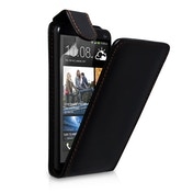 YouSave Accessories HTC One S Leather-Effect Flip Case - Black