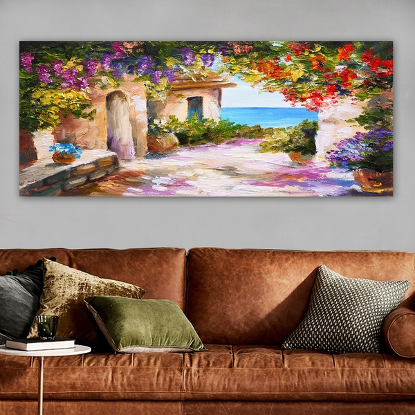 YTY287446373_50120 Multicolor Decorative Canvas Painting