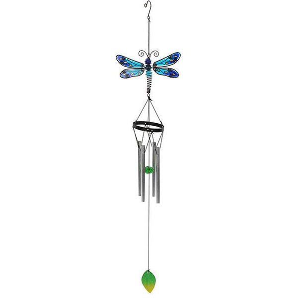 Blue Spotted Dragonfly Windchime