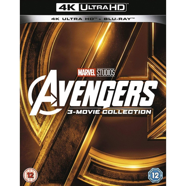 Avengers Collection 1-3 4K UHD + Blu-ray