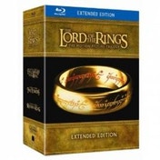 The Lord Of The Rings Trilogy Limited Extended Edition Blu-Ray