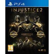 (Damaged) Injustice 2 Legendary Day One Edition PS4 Game (Inc Steelbook) Used - Like New