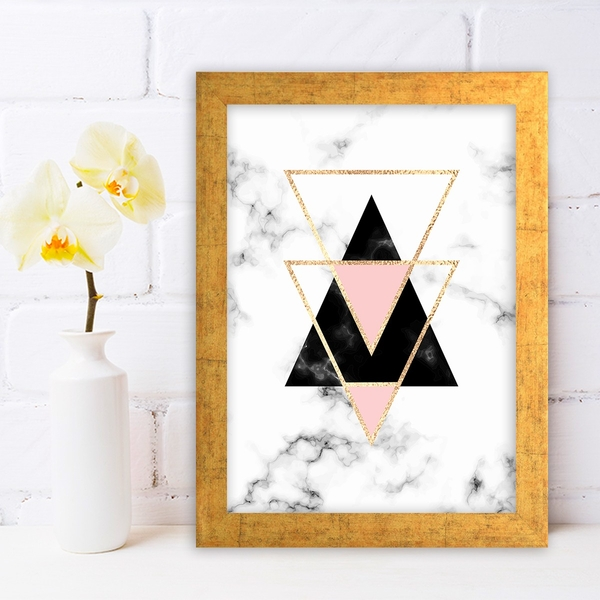 AC486704458 Multicolor Decorative Framed MDF Painting