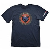 Mafia III Men's Hangar 13 Logo Large Navy T-Shirt