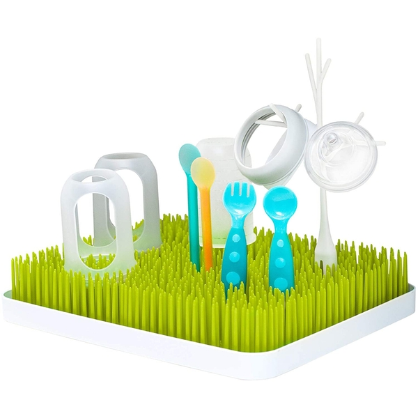 Boon LAWN Large Baby Bottle Dryer Rack - Green