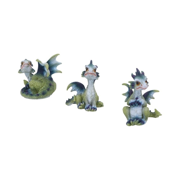 Triple Trouble  (Set of 3) Dragon Figurines