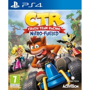 Crash Team Racing Nitro Fueled PS4 Game + Back Pack Hanger